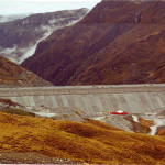 large grout curtain for tailings dam