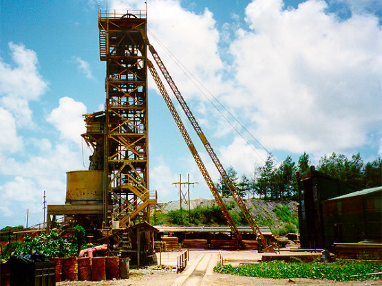 Grouting and shaft sinking in Longos mine - Philippines