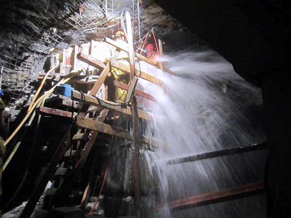Tunnel Water Inflow Recovery