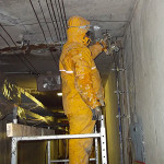 Chemical grouting in hydro plant