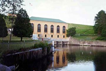 concrete repairs at hydro facility